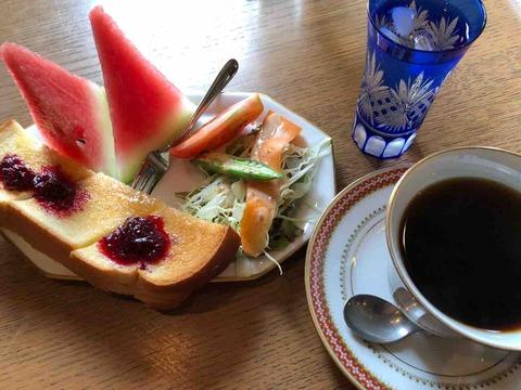 『珈琲&ギャラリー宴』モーニング