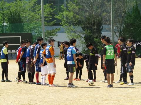 2016年春のいちょう祭スポーツ大会 4日目 サッカー(5月5日)