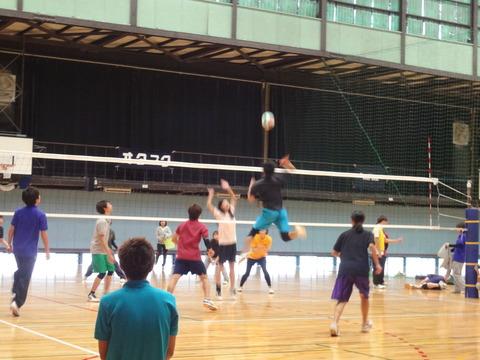 2015年秋のまちかね祭スポーツ大会 3日目 バレーボール(11月3日)