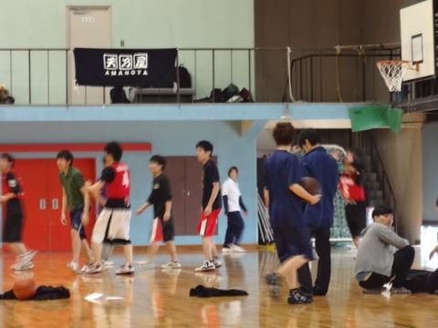 スポーツ大会【バスケットボール】