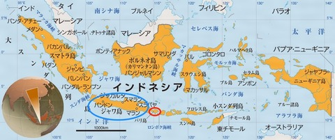 インドネシア地図 2