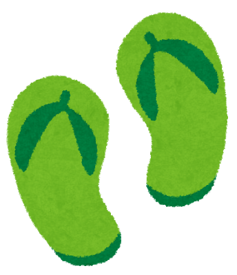 beach_sandal_green