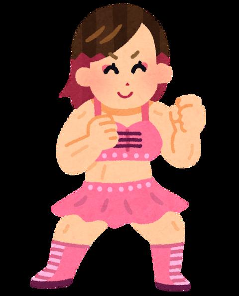 sports_pro_wrestler_woman