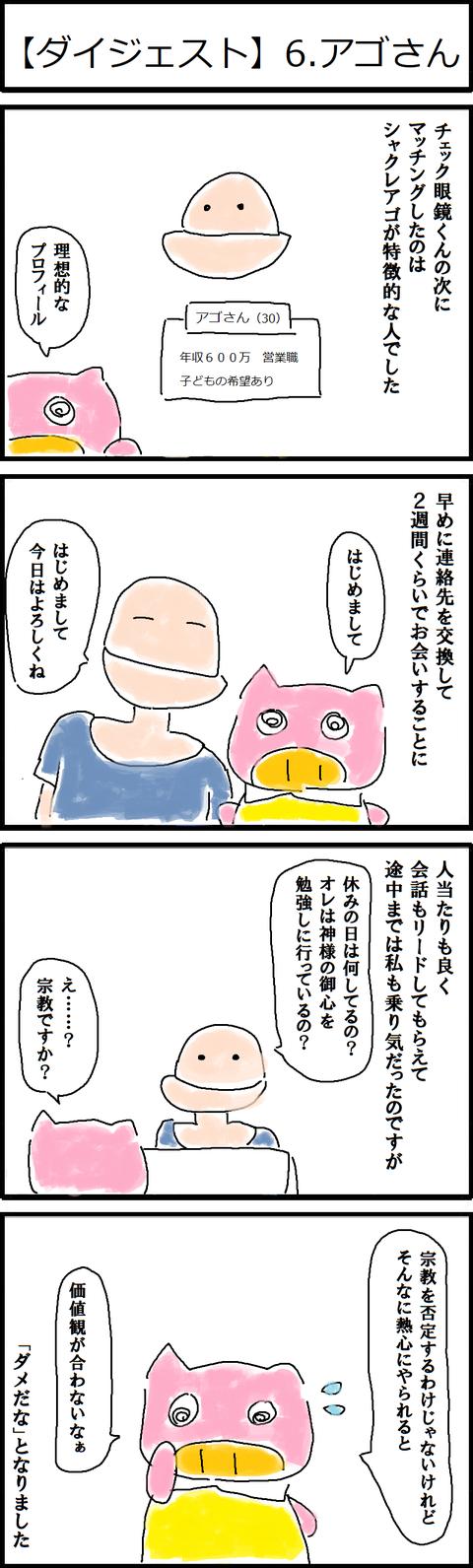 【ダイジェスト】6.アゴさん