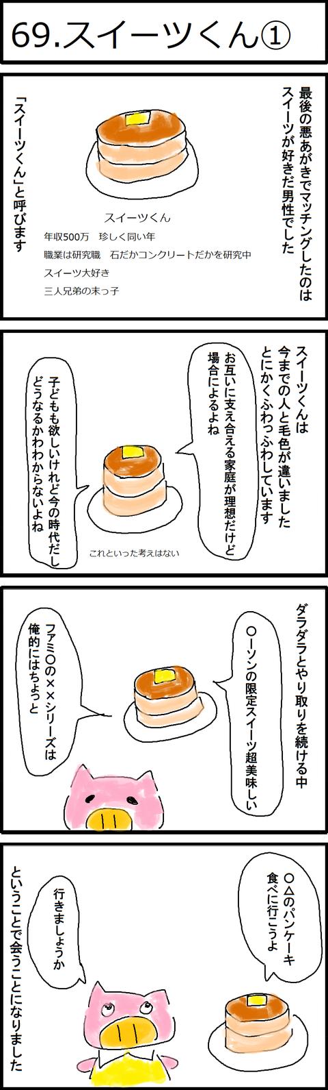 69.スイーツくん①