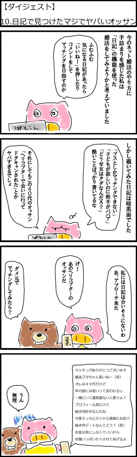 【ダイジェスト】10.日記で見つけたマジでヤバいオッサン