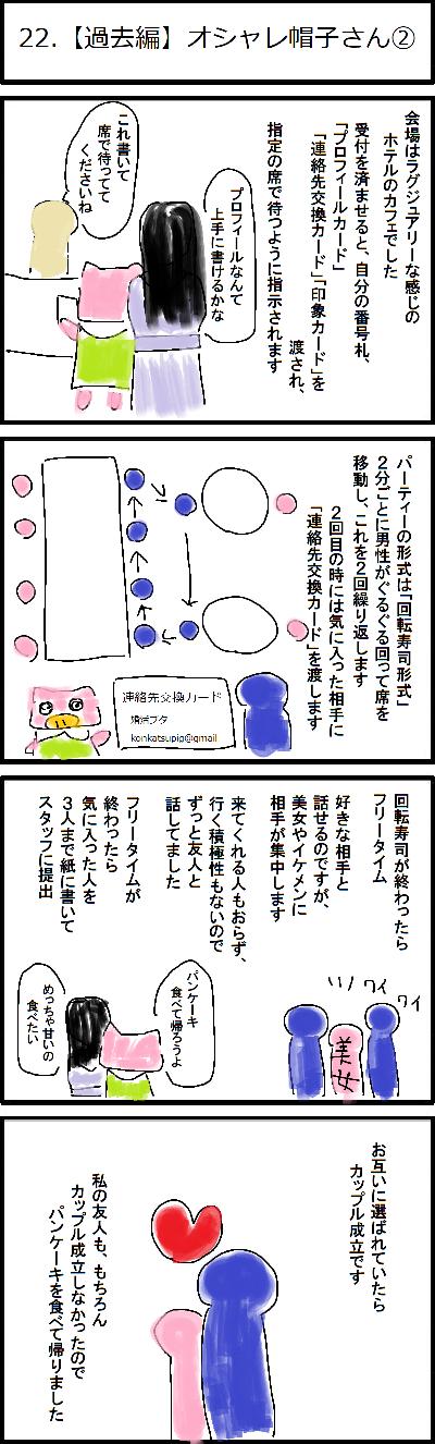 22.【過去編】オシャレ帽子さん②
