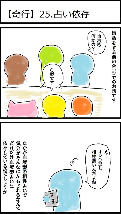 【奇行】25.占い依存