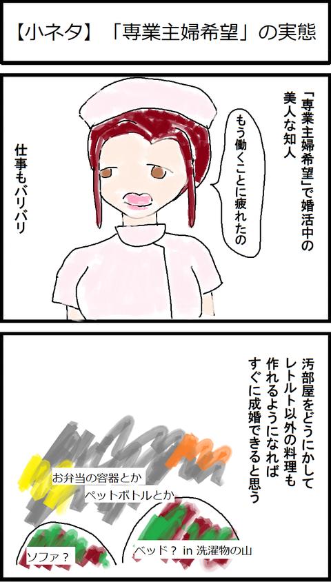 【小ネタ】「専業主婦希望」の実態