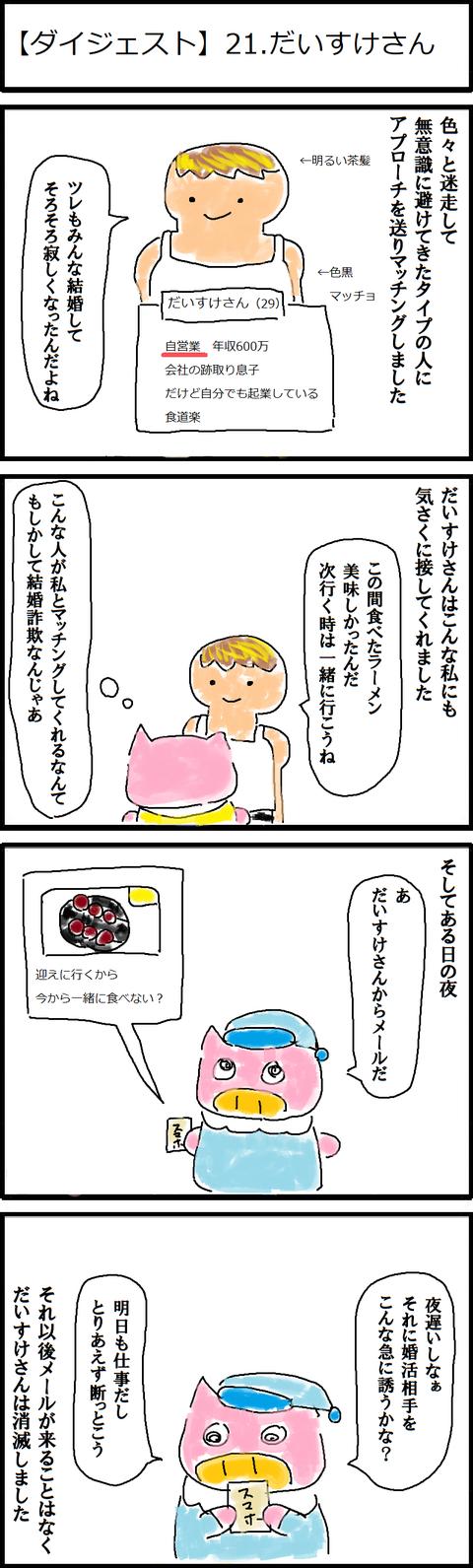 【ダイジェスト】21.だいすけさん
