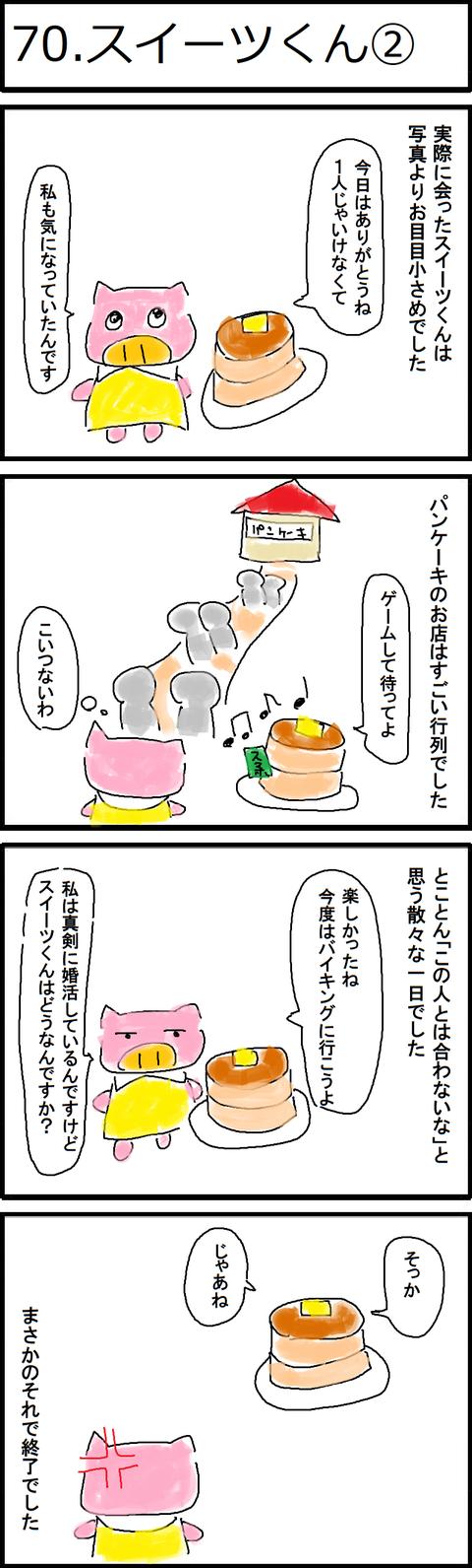 70.スイーツくん②