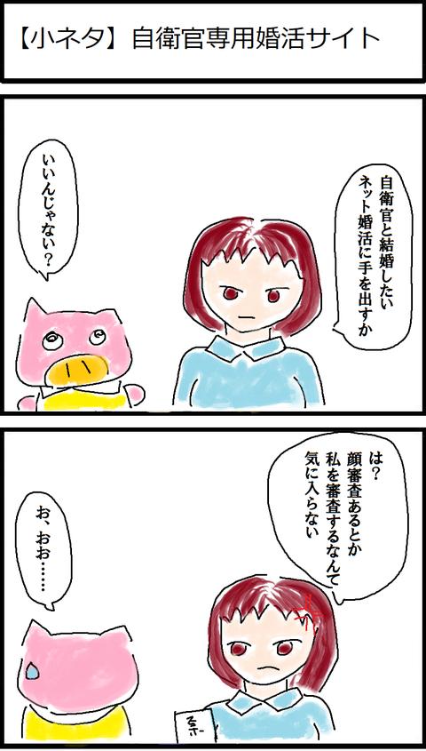 【小ネタ】自衛官専用婚活サイト