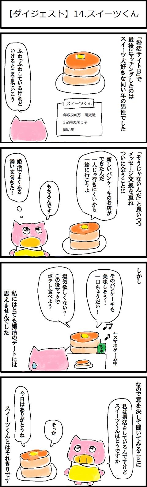 【ダイジェスト】14.スイーツくん