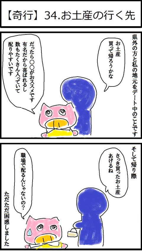【奇行】34.お土産の行く先