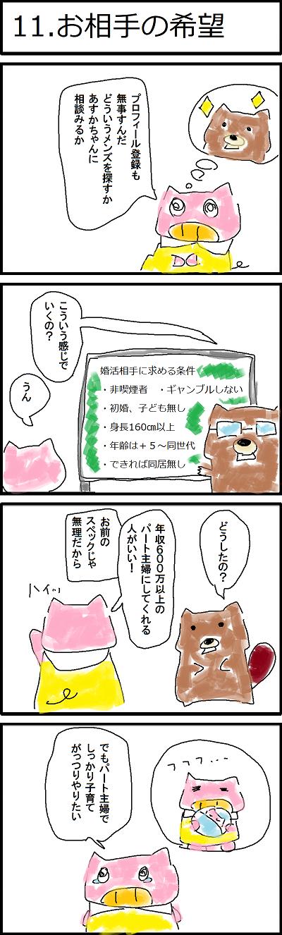 11.お相手の希望
