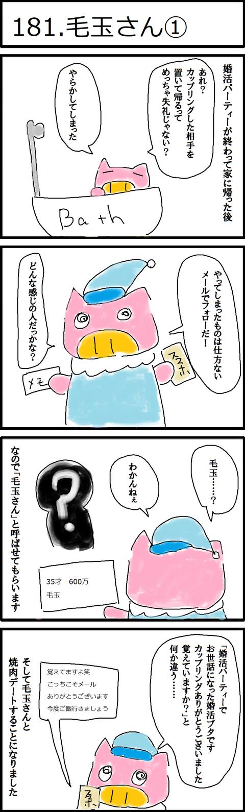 181.毛玉さん①