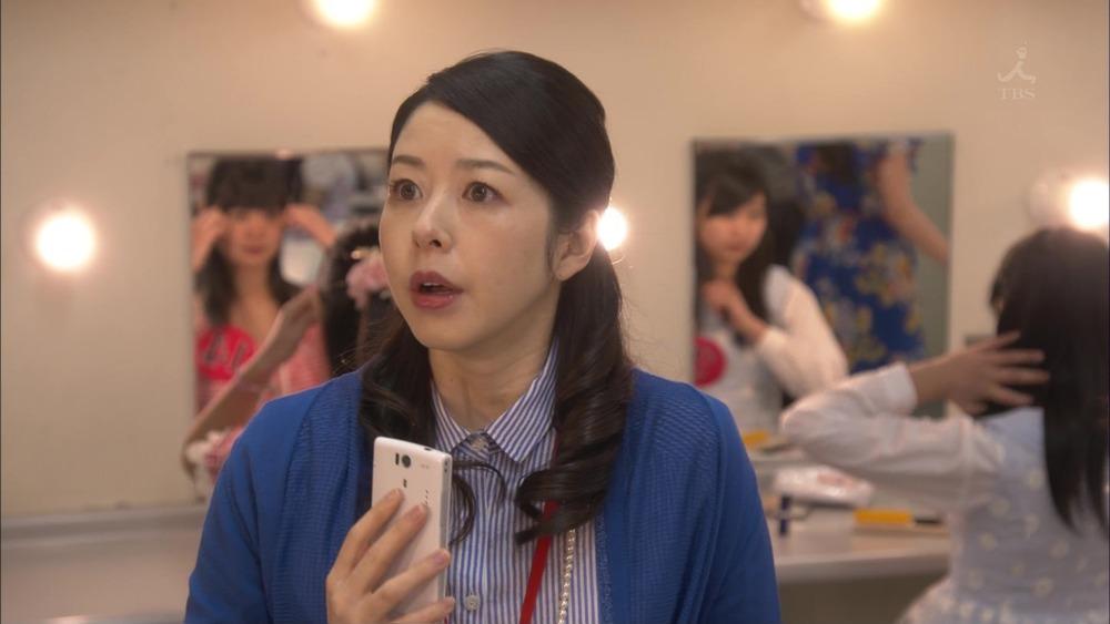びっくりした表情の堀内敬子