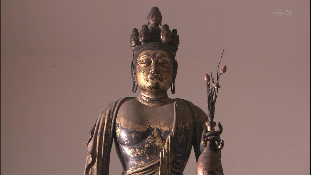 こんなテレビを見た。   美の巨人たち 聖林寺 国宝『十一面観音立像』 コメント