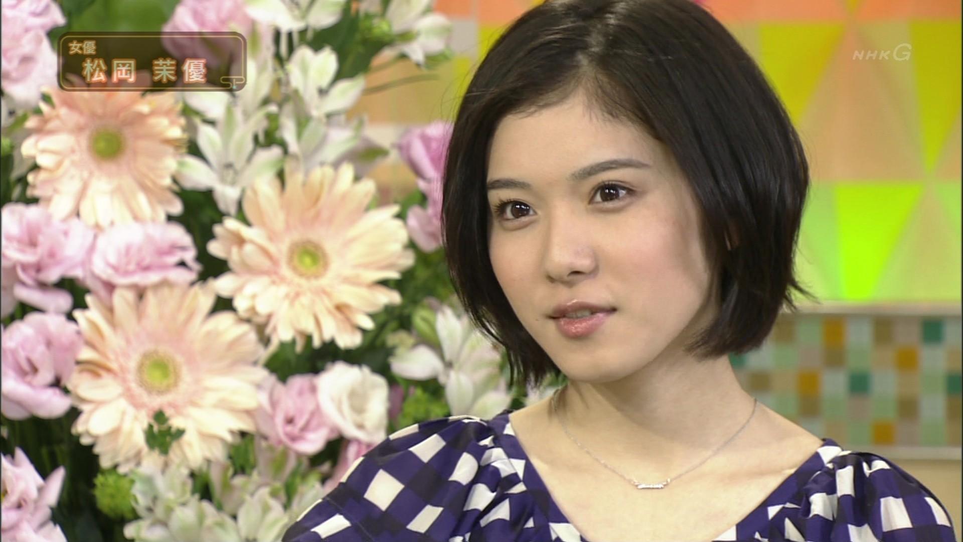 テレビ番組にゲストとして出演する松岡茉優