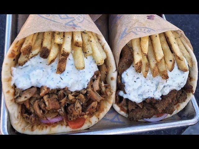【画像】ギリシャのサンドイッチwwwww