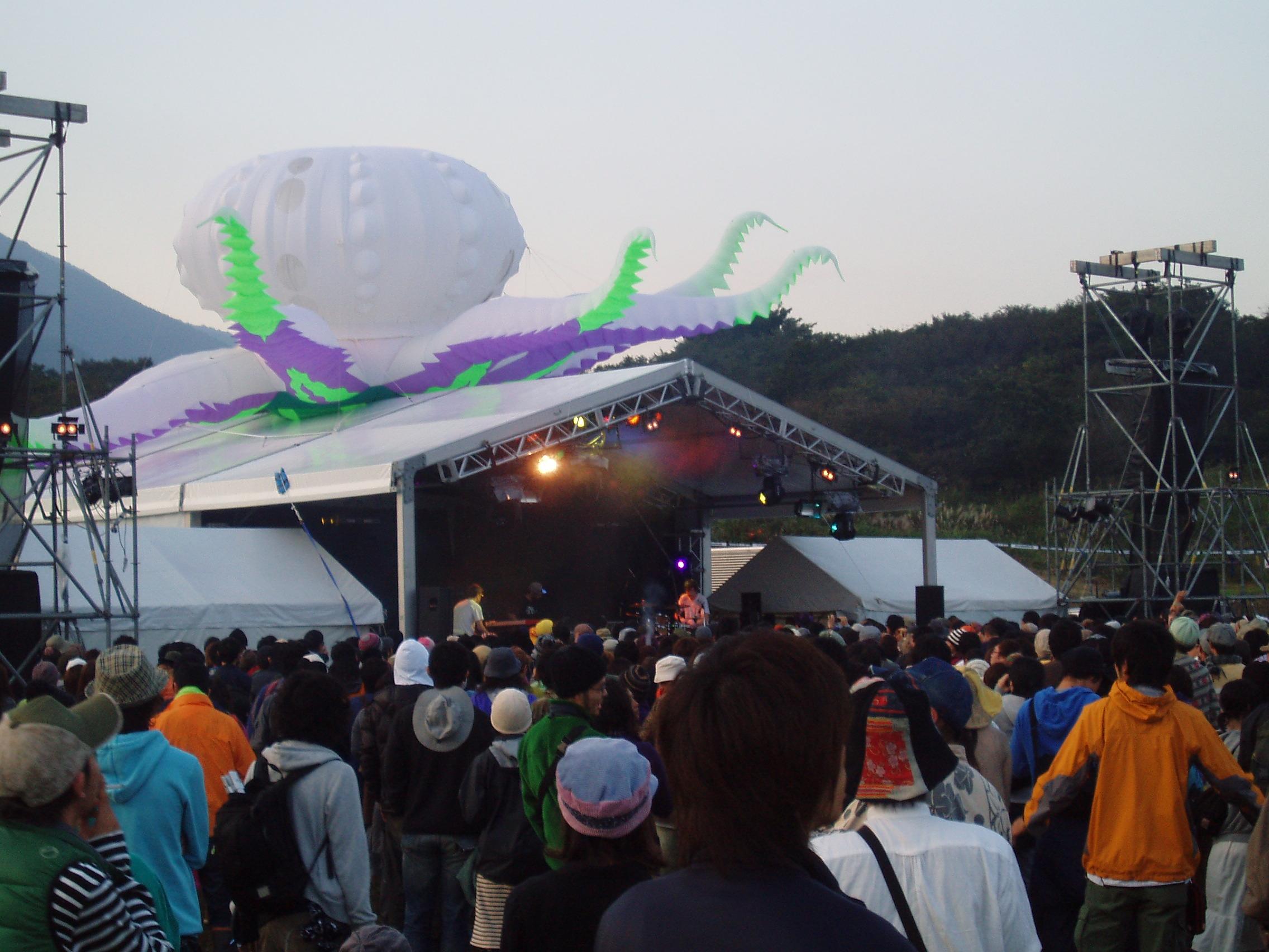 朝霧'07 レインボーステージ