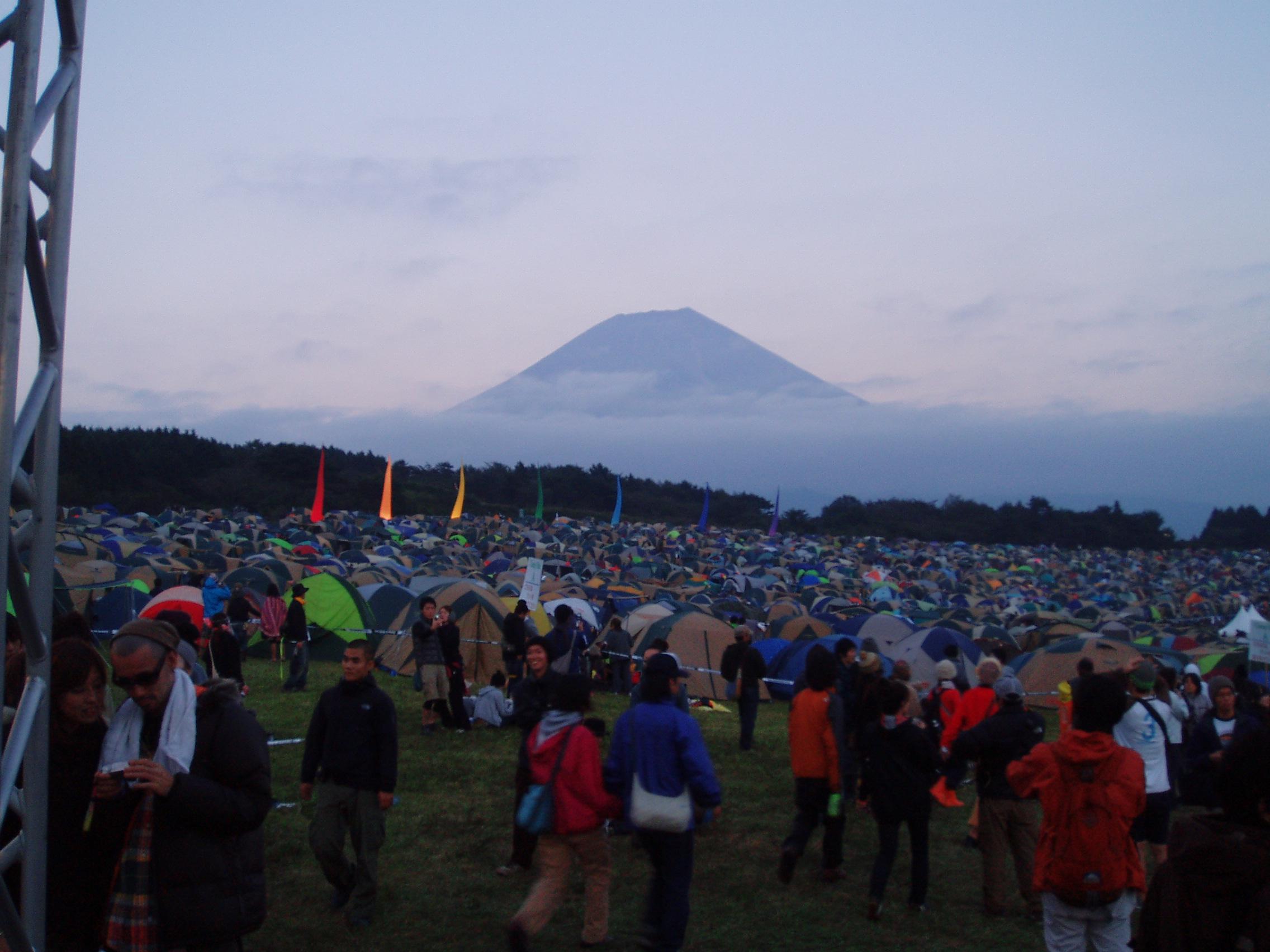 朝霧'07 富士山