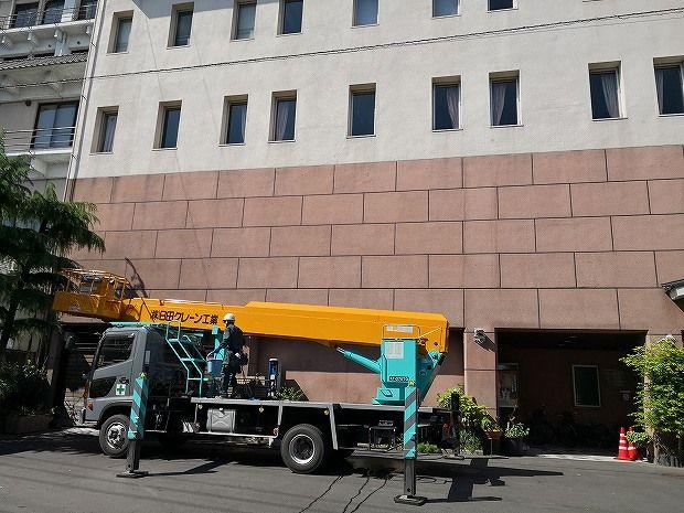 日田温泉 亀山亭ホテルの外壁の掃除と畳替え (15)