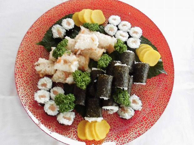 地元日田市のお客様方に屋形船を  お料理(2)