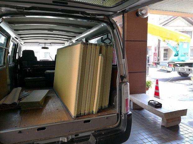 日田温泉 亀山亭ホテルの外壁の掃除と畳替え (17)