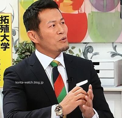 須藤 元気 ロレックス コスモグラフ デイトナ  ブラックシャンパンインダイヤル 『バイキング』より
