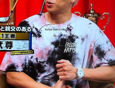 武尊 オメガ シーマスター プラネットオーシャン 東京2020 リミテッドエディション 『ジャンクSPORTS』より
