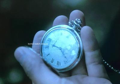 吉川 晃司 ハッフマン 懐中時計(ポケットウォッチ) 手巻き フルハンター(両蓋付き) 『探偵・由利麟太郎』より