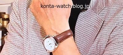 萩原 健一 タグ・ホイヤー モンツァ キャリバー36 限定復刻モデル 『ダウンタウンなう』より