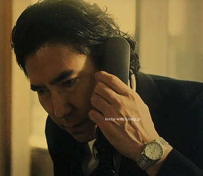高嶋 政伸 ロレックス デイトジャスト ホワイト/ローマ 『TWO WEEKS』より