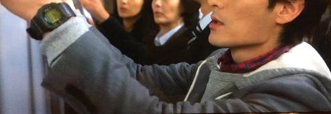 草彅 剛(SMAP) カシオ Gショック スピードモデル ゴールド液晶