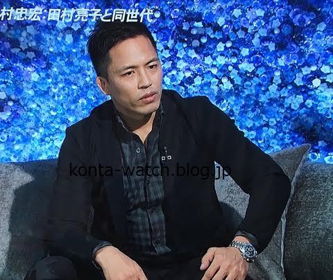 野村 忠宏(柔道家) ロレックス デイトナ ブラックダイヤル