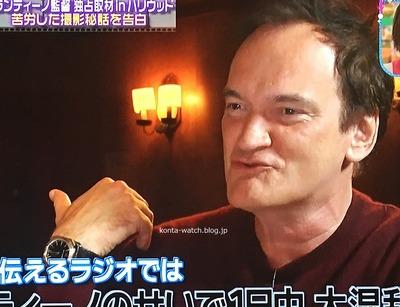 クエンティン・タランティーノ(Quentin Tarantino) ブルガリ オクト ソロテンポ 『王様のブランチ』より