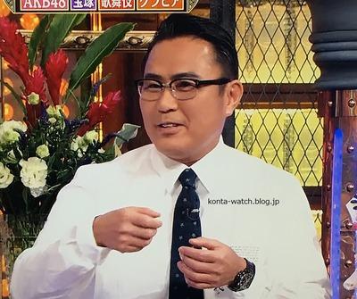 三代目 市川 右團次 ロレックス デイトナ カスタム PVD 『ダウンタウンDX』より
