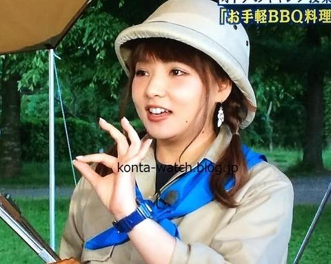 野呂 佳代(AKB48、SDN48の元メンバー) カシオ ベビーG 電波ソーラー 20周年 限定モデル