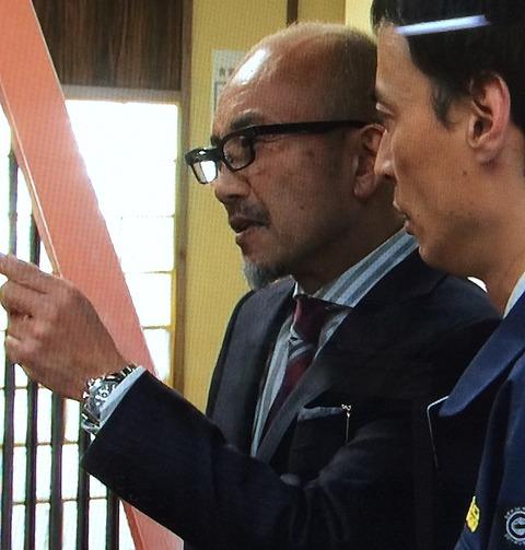 竹中 直人 ロレックス デイトナ 黒文字盤