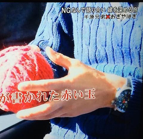 矢作 兼(おぎやはぎ) シチズン プロマスター エコ・ドライブ アルティクロン