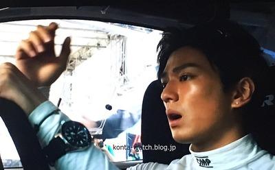 新田 真剣佑 セイコー プロスペックス ダイバー スキューバ ヒストリカルコレクション 1stダイバーズ 映画「OVER DRIVE」より