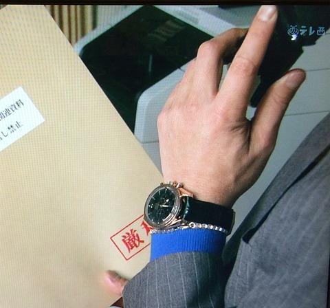 渡部 篤郎 オメガ スピードマスター ブロードアロー 1957