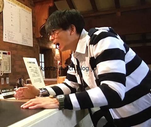 向井 理 カシオ Gショック ミリタリー・シリーズ  カーキ
