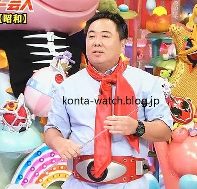 塚地 武雅(ドランクドラゴン) カシオ Gショック 仮面ライダー 石ノ森章太郎生誕70周年記念モデル