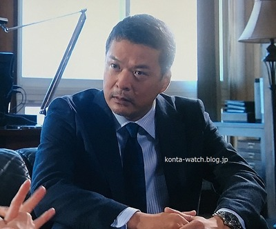 田中 哲司 ハミルトン ジャズマスター オープンハート オート 42MM 『あなたには渡さない』より