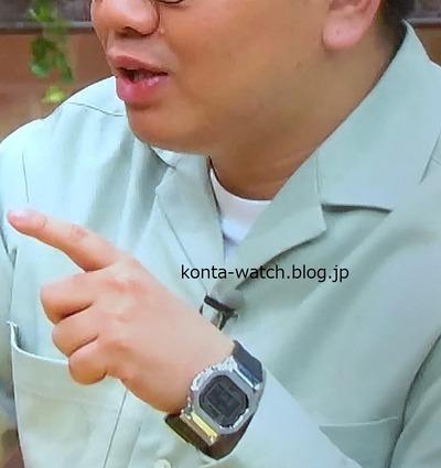 昴生(ミキ) カシオ Gショック 『よるのブランチ』より