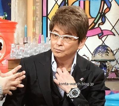 哀川 翔 ウブロ ビッグ・バン ウニコ ゴルフ 『ダウンタウンDX』より