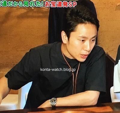 太田 雄貴(元フェンシング選手) ロレックス エアキング