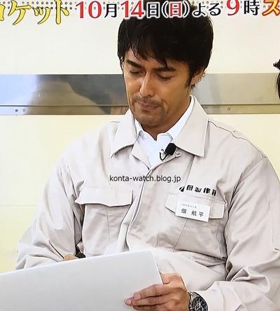 阿部 寛 セイコー アストロン  エグゼクティブライン 『下町ロケット 第2シリーズ』より